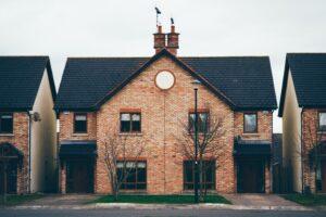 semi-detached houses roof